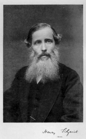 portrait of Henry Sidgwick